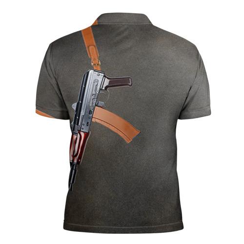 Мужская рубашка поло 3D  Фото 02, АКСУ 3