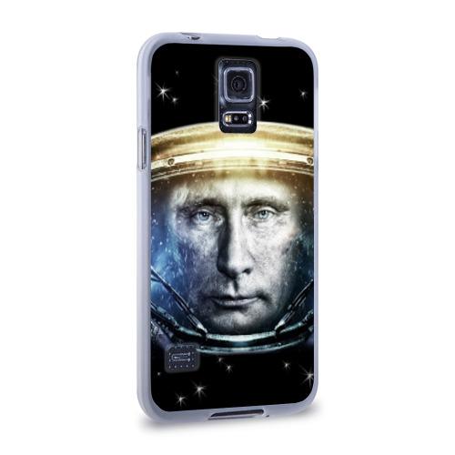 Чехол для Samsung Galaxy S5 силиконовый  Фото 02, Путин  Владимир