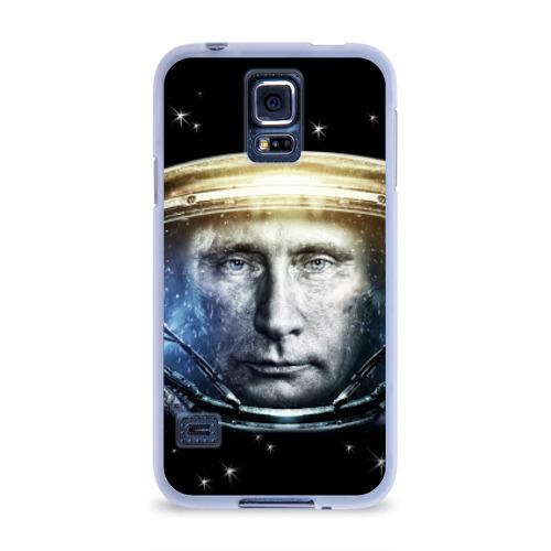 Чехол для Samsung Galaxy S5 силиконовый  Фото 01, Путин  Владимир