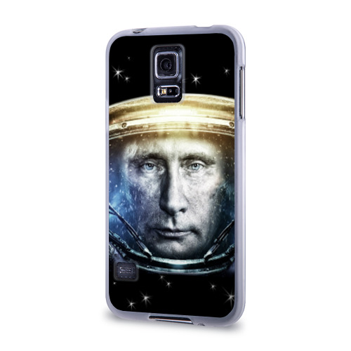 Чехол для Samsung Galaxy S5 силиконовый  Фото 03, Путин  Владимир
