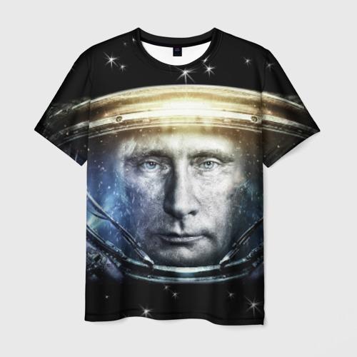 Мужская футболка 3D  Фото 01, Путин  Владимир