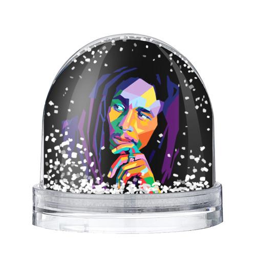 Водяной шар со снегом Боб Марли