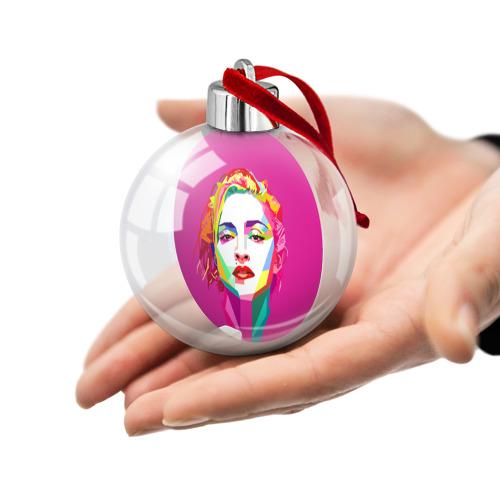 Ёлочный шар  Фото 02, Мадонна