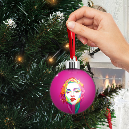 Ёлочный шар  Фото 03, Мадонна
