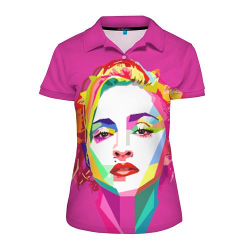 Женская рубашка поло 3D Мадонна