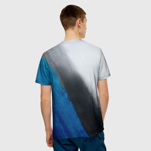 Мужская футболка 3D Баскетбол бросок
