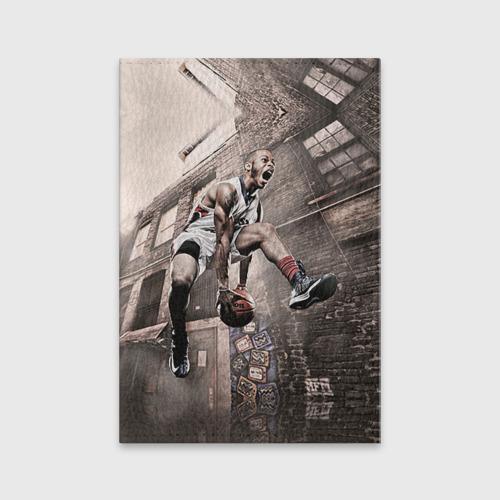 Обложка для паспорта матовая кожа  Фото 01, Баскетбол город