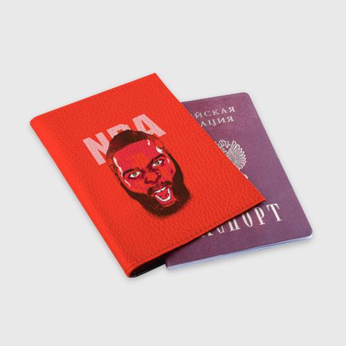 Обложка для паспорта матовая кожа  Фото 03, NBA