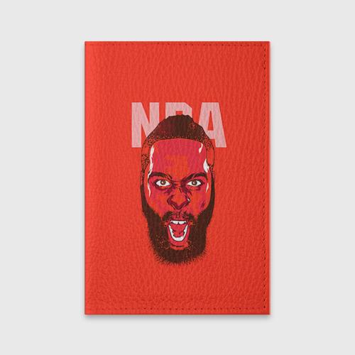 Обложка для паспорта матовая кожа  Фото 01, NBA