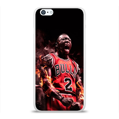 Чехол для Apple iPhone 6Plus/6SPlus силиконовый глянцевый  Фото 01, NBA спорт