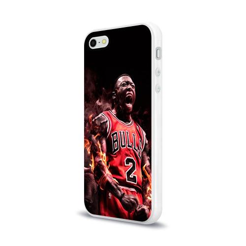 Чехол для Apple iPhone 5/5S силиконовый глянцевый  Фото 03, NBA спорт