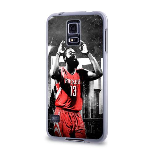Чехол для Samsung Galaxy S5 силиконовый  Фото 03, Баскетболист NBA