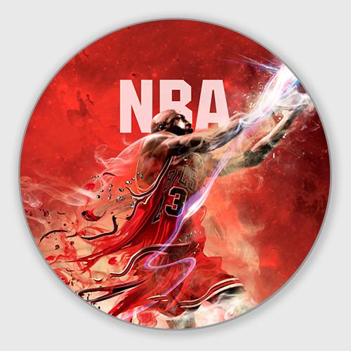 Коврик для мышки круглый Спорт NBA Фото 01
