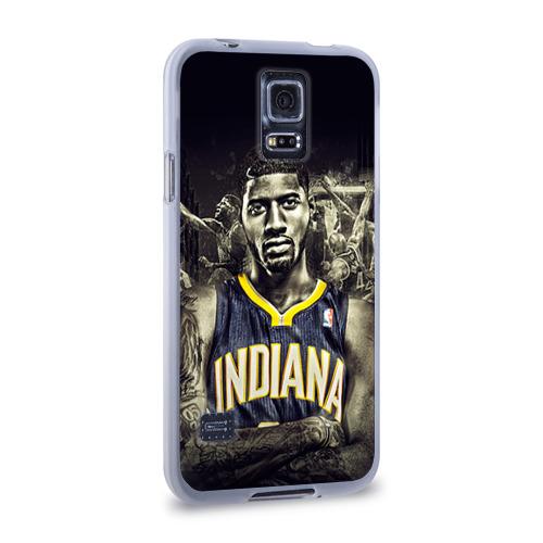 Чехол для Samsung Galaxy S5 силиконовый  Фото 02, Баскетболисты NBA