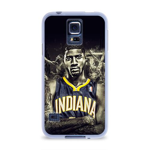 Чехол для Samsung Galaxy S5 силиконовый  Фото 01, Баскетболисты NBA