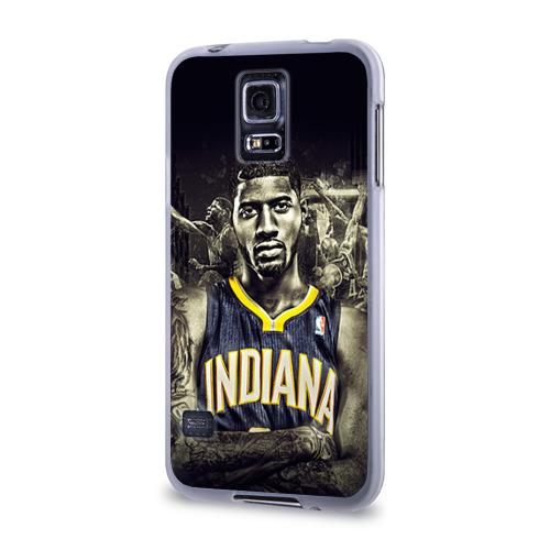 Чехол для Samsung Galaxy S5 силиконовый  Фото 03, Баскетболисты NBA