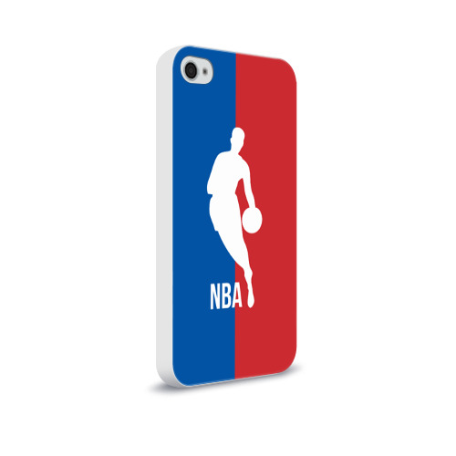 Чехол для Apple iPhone 4/4S soft-touch  Фото 02, Эмблема NBA