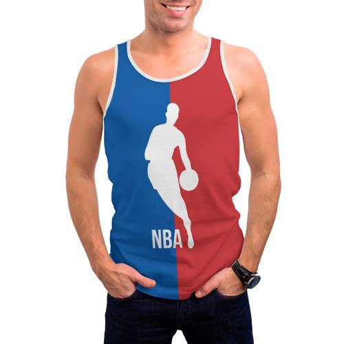 Мужская майка 3D  Фото 03, Эмблема NBA