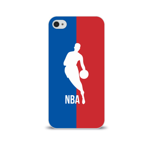 Чехол для Apple iPhone 4/4S soft-touch  Фото 01, Эмблема NBA