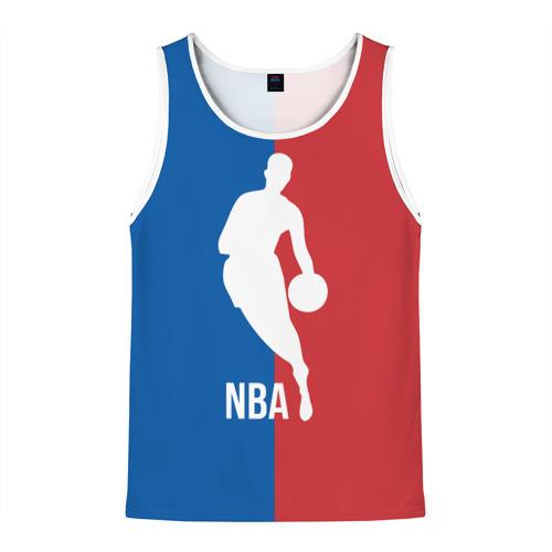 Мужская майка 3D Эмблема NBA