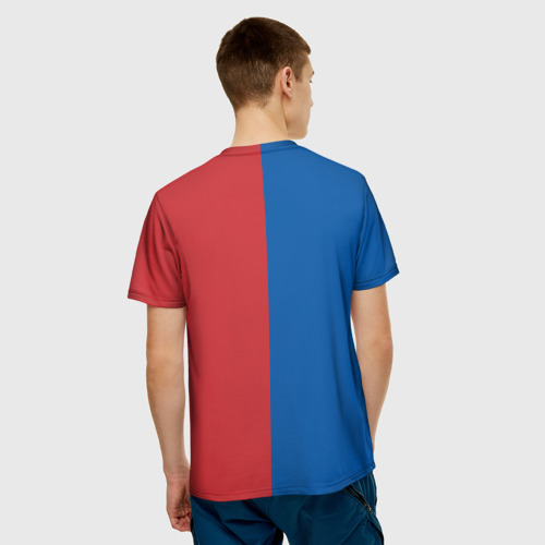 Мужская футболка 3D Эмблема NBA