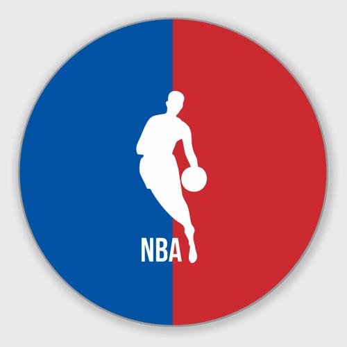 Коврик для мышки круглый Эмблема NBA Фото 01