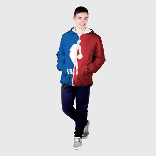 Мужская куртка 3D  Фото 03, Эмблема NBA