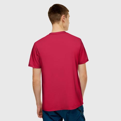 Мужская футболка 3D Chicago bulls