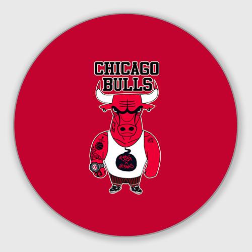Коврик для мышки круглый Chicago bulls Фото 01