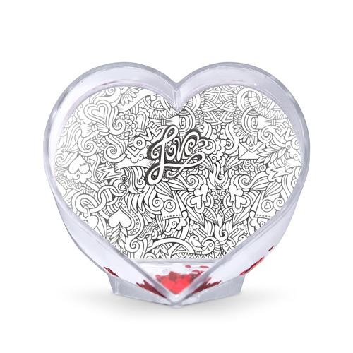 Сувенир Сердце  Фото 01, Love графика