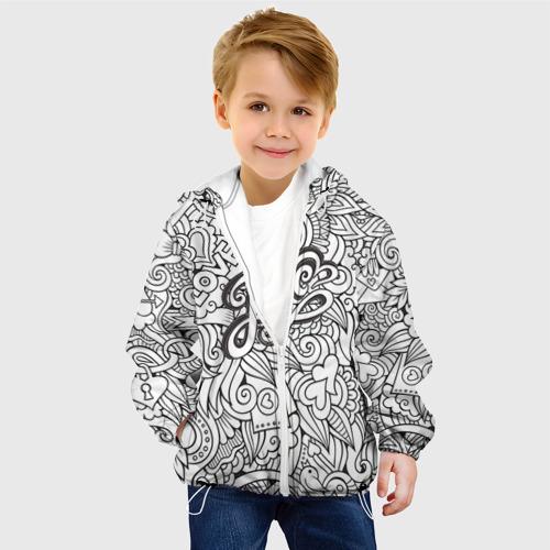 Детская куртка 3D  Фото 03, Love графика