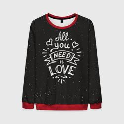 Любовь надпись
