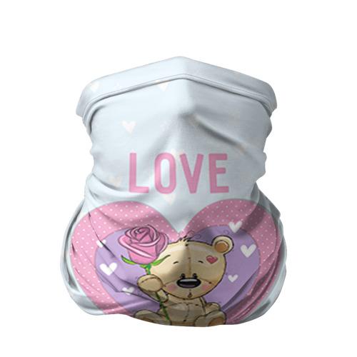Бандана-труба 3D Мишка love