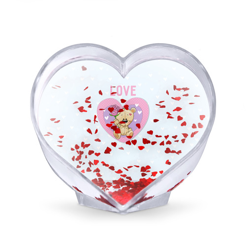 Сувенир Сердце  Фото 02, Мишка love