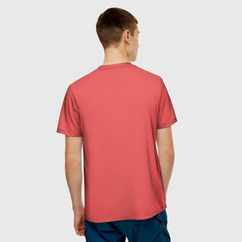 Мужская футболка 3D Кисули Love Фото 01