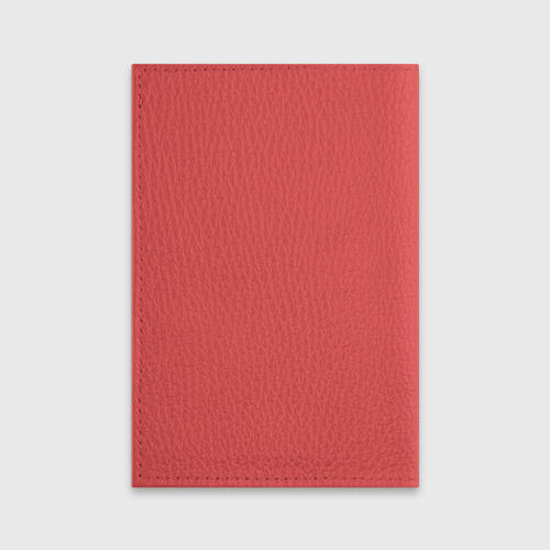 Обложка для паспорта матовая кожа  Фото 02, Кисули Love