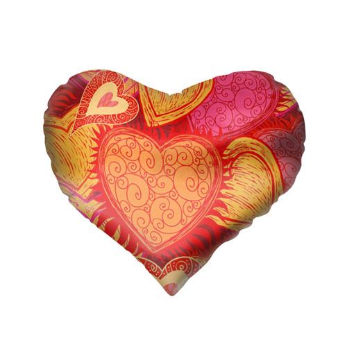Подушка 3D сердце  Фото 02, Обожаю мужа