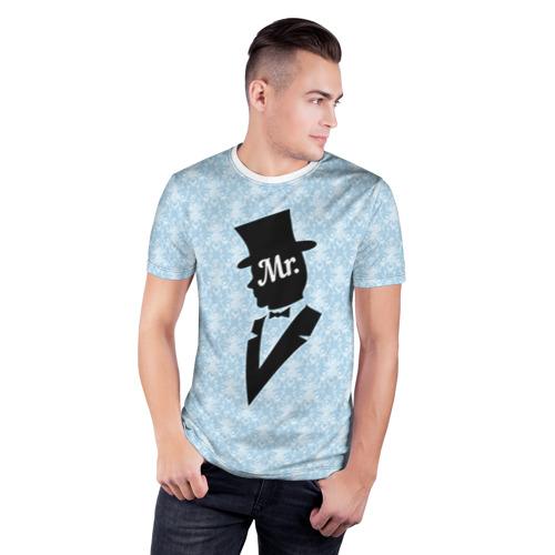 Мужская футболка 3D спортивная  Фото 03, Mister 1