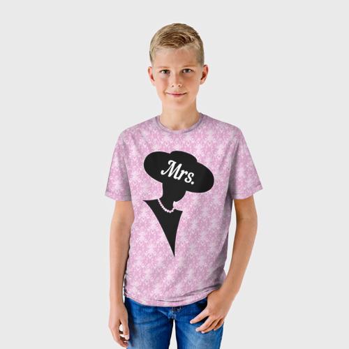 Детская футболка 3D Mrs. 1