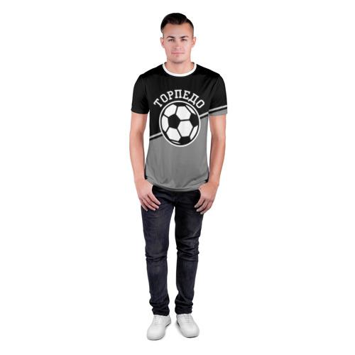 Мужская футболка 3D спортивная  Фото 04, Торпедо