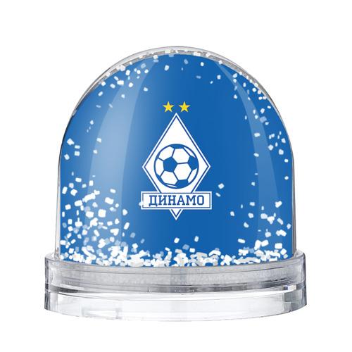 Водяной шар со снегом Динамо