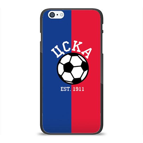 Чехол для Apple iPhone 6/6S Plus силиконовый глянцевый ЦСКА от Всемайки