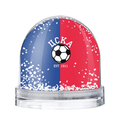 Водяной шар со снегом ЦСКА