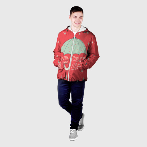 Мужская куртка 3D  Фото 03, I will shower you with love