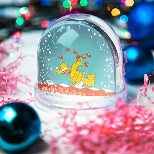Водяной шар со снегом  Фото 03, Simpson