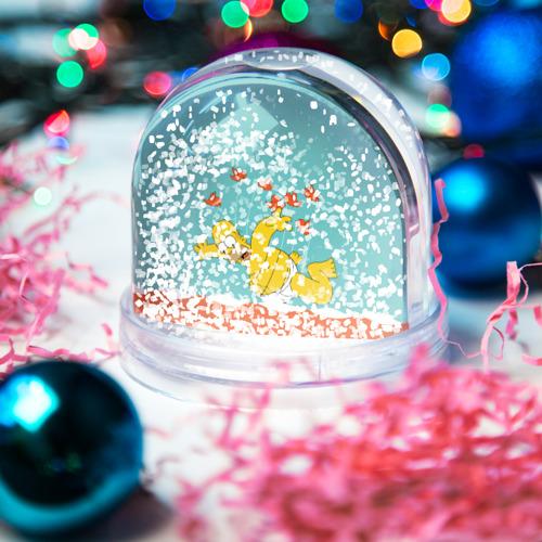 Водяной шар со снегом  Фото 04, Simpson