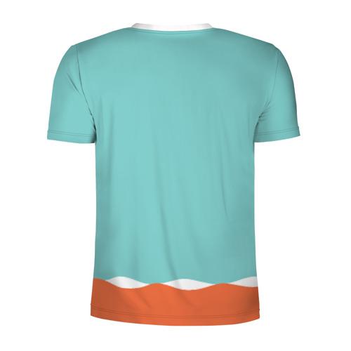 Мужская футболка 3D спортивная  Фото 02, Simpson