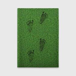 Следы на траве