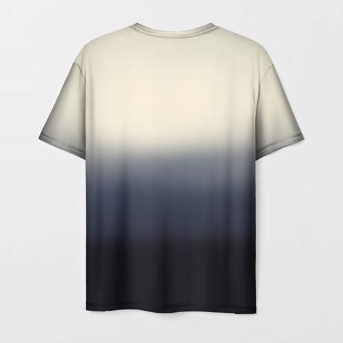 Мужская футболка 3D Мононоке и глаза Фото 01