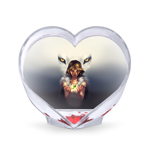 Сувенир Сердце Сувенир Сердце Мононоке и глаза от Всемайки